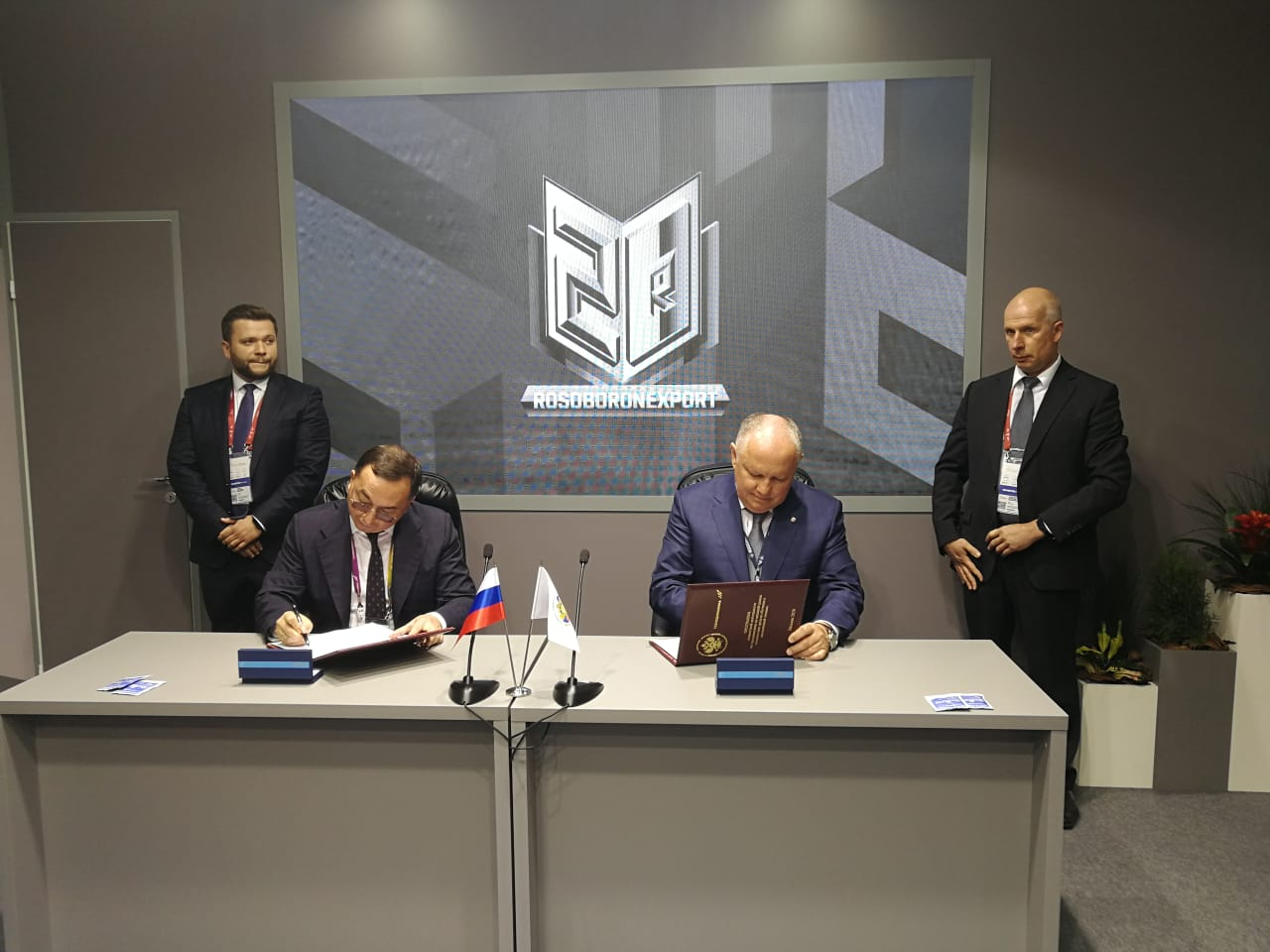 Rosoboronexport and Technodinamika sign a program to promote flight simulators in the world market
