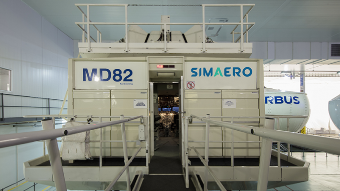 Simaero MD82 Full Flight Simulator Now EASA Certified, Only One in Europe