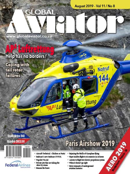 Global Aviator August 2019